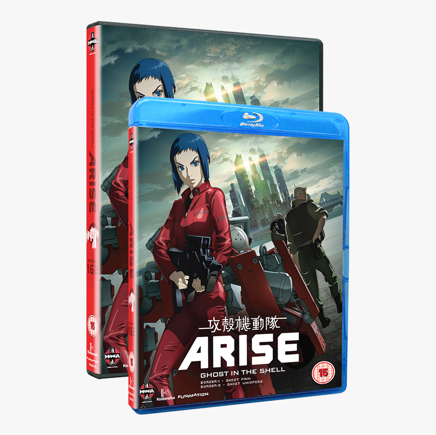 Ghost In The Shell Arise Internet Movie Firearms Anime Hd Png Download Transparent Png Image Pngitem