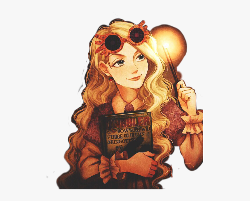 Luna Lovegood Lunalovegood Harrypotter Jkrowling Luna Fan Art Harry Potter Hd Png Download Transparent Png Image Pngitem