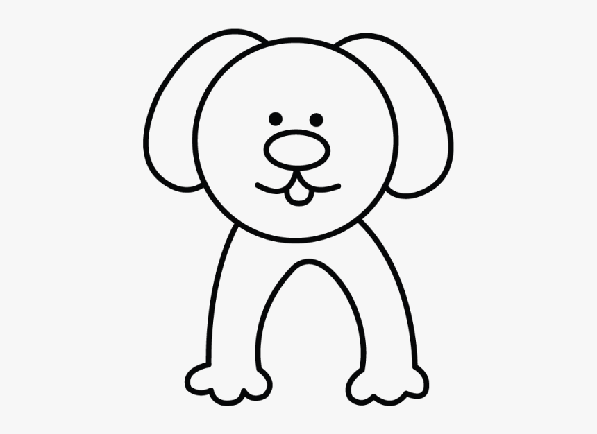 How To Draw A Dog Easy Step By Step Drawing Tutorial Simple Dog Drawings Easy Hd Png Download Transparent Png Image Pngitem