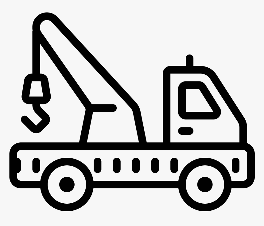 Truck Transportation Free Black White Clipart Images - Png Download - Full  Size Clipart (#2983985) - PinClipart
