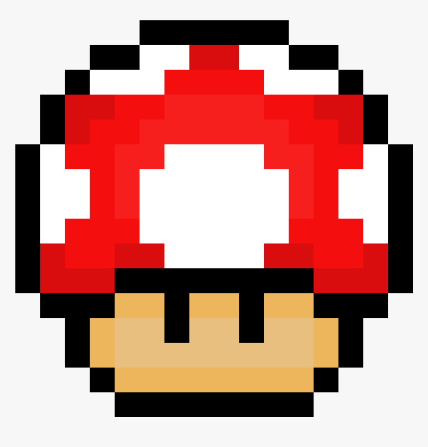 Mario Mushroom Pixil Super Mario World 1 Up Mushroom Hd