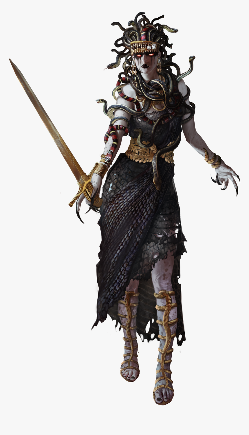 Assassins Creed Odyssey Art Medusa Assassin S Creed Odyssey Hd Png Download Transparent Png Image Pngitem