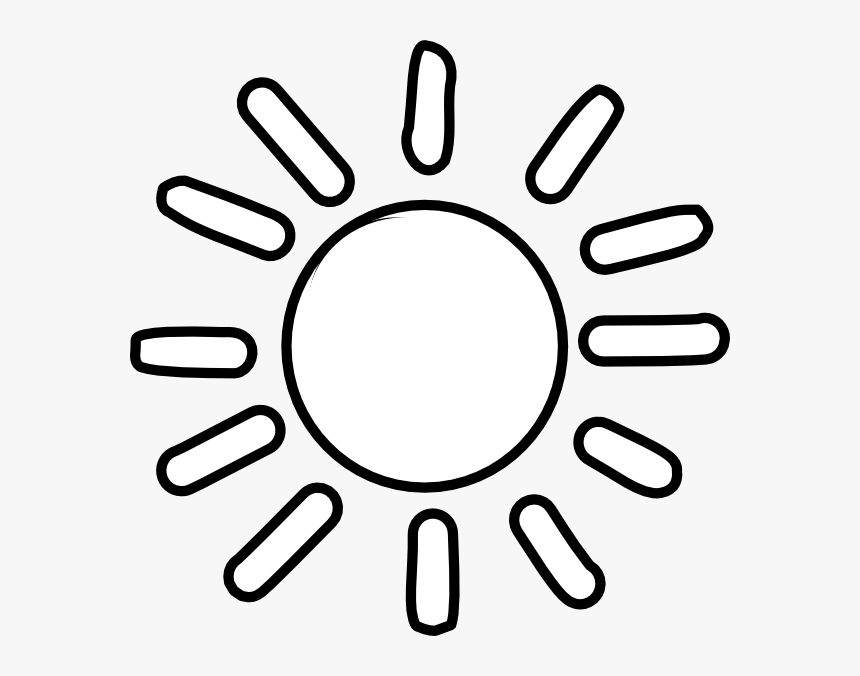 Black And White Sun Clipart Free Library Rr Collections Sunshine