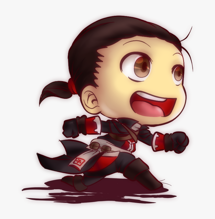 Fan Art Assassin S Creed Assassin Fanart Chibi Hd Png Download Transparent Png Image Pngitem