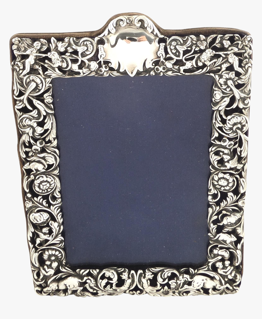 Antique Victorian Sterling Silver Photo