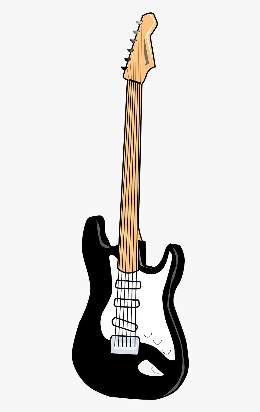 Transparent Electric Guitar Png Cartoon Electric Guitar Png Png Download Transparent Png Image Pngitem