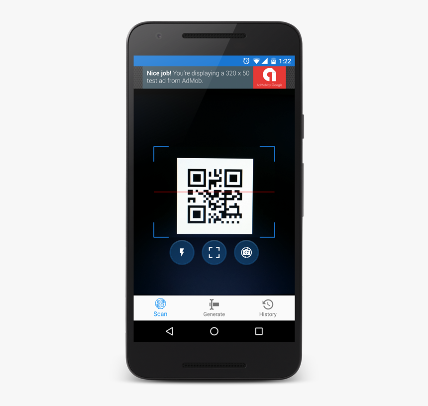 [Android] Scan, read and create QR codes with QR Droid