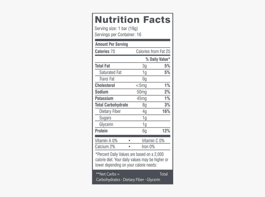 Chocolate Bar Nutrition Facts Fun Size
