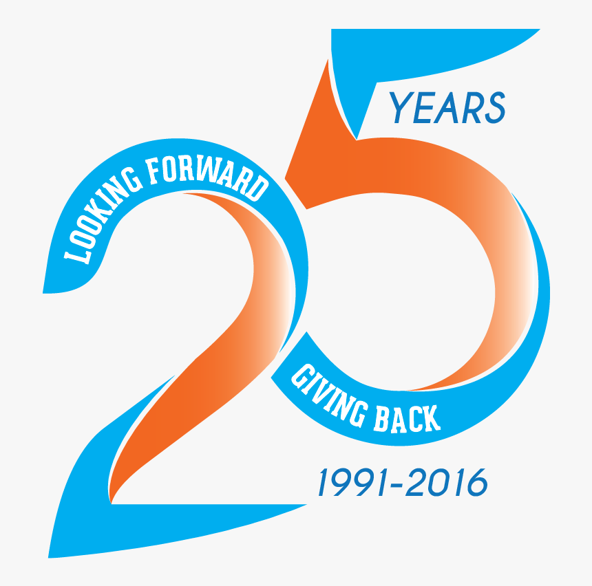 25th anniversary png transparent th anniversary png -  years anniversary