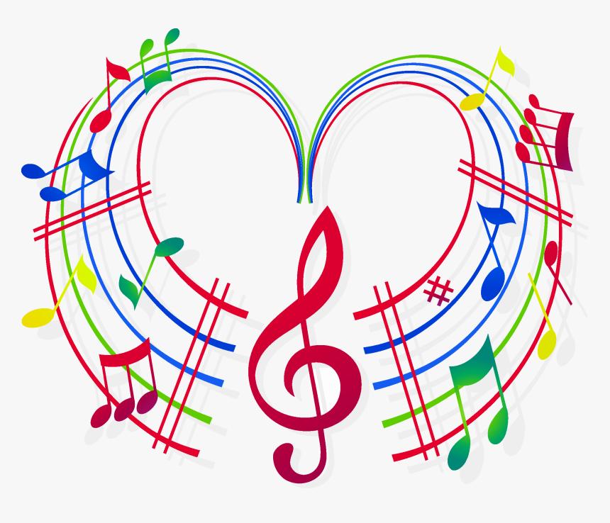Transparent Colorful Musical Notes Png - Colorful Transparent ...