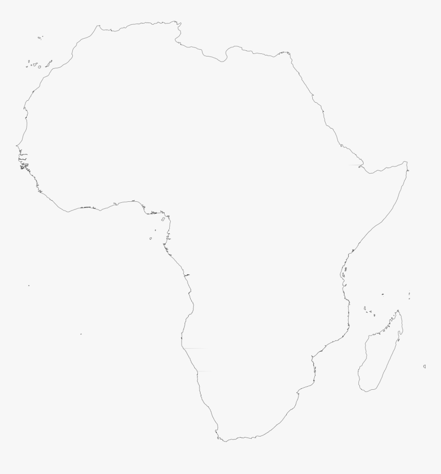 Africa Map White White Africa Map Transparent, HD Png Download , Transparent Png
