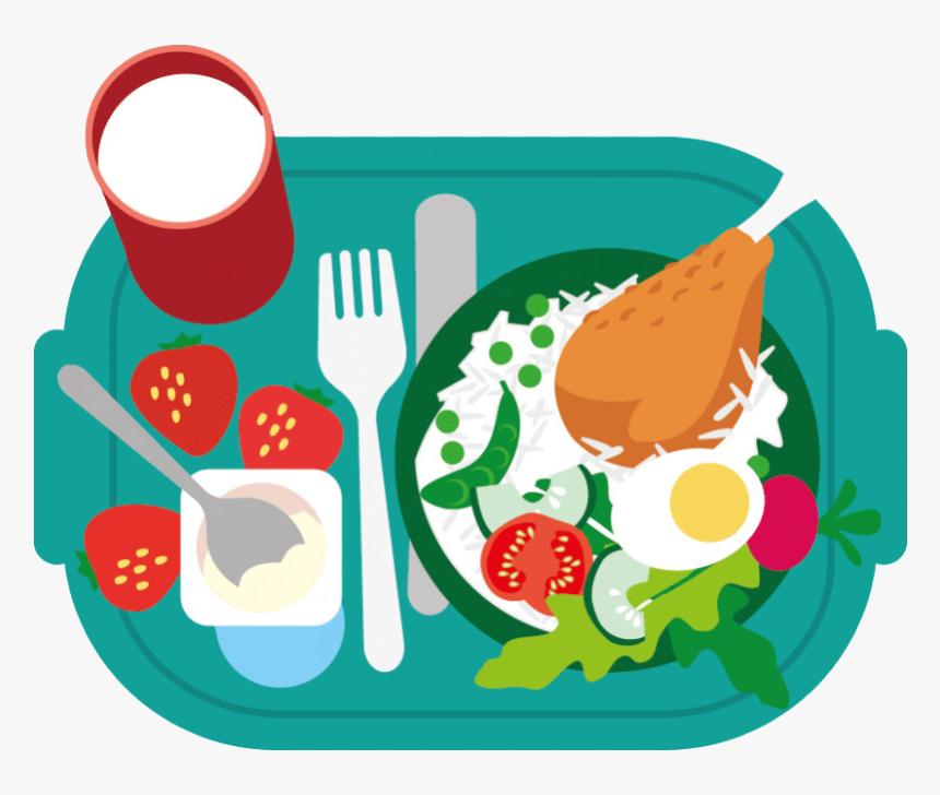 Healthy Food Junk Breakfast School Meal Clip Art Eating - Healthy ...