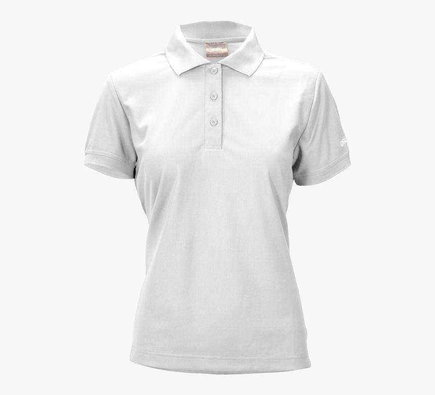 plain white polo shirt png