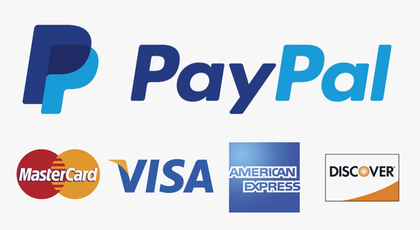 Paypal Png Download Image - Credit Card Logos With Paypal