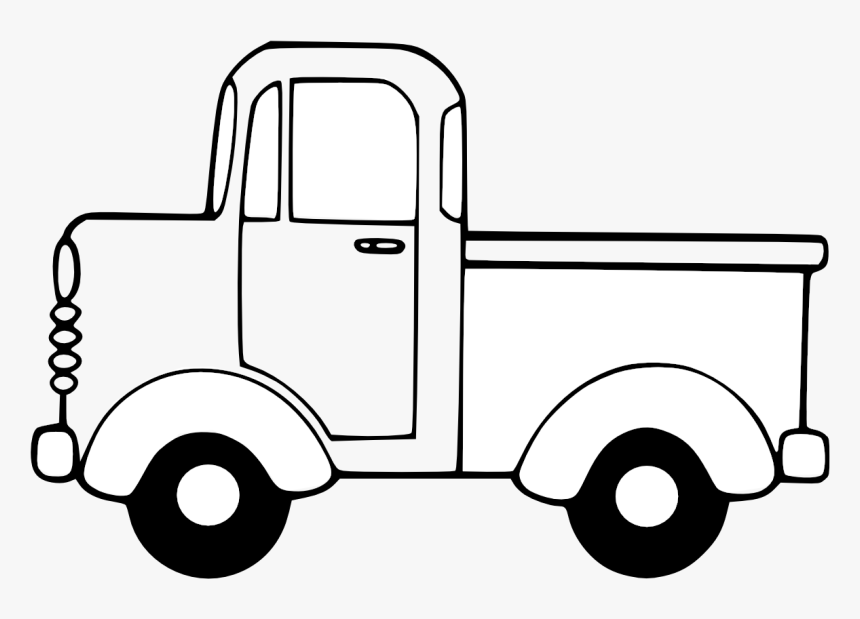 Cliparthot Of Semi Trucks And Truck Ⓒ - Printable Little Blue Truck  Coloring Pages, HD Png Download , Transparent Png Image - PNGitem
