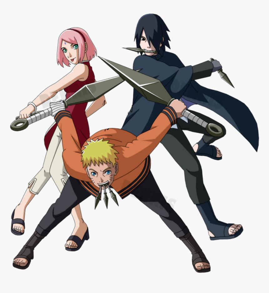 Naruto Sasuke Sakura Kakashi Shippuden Boruto Naruto Next Generations Team 7 Hd Png Download Transparent Png Image Pngitem