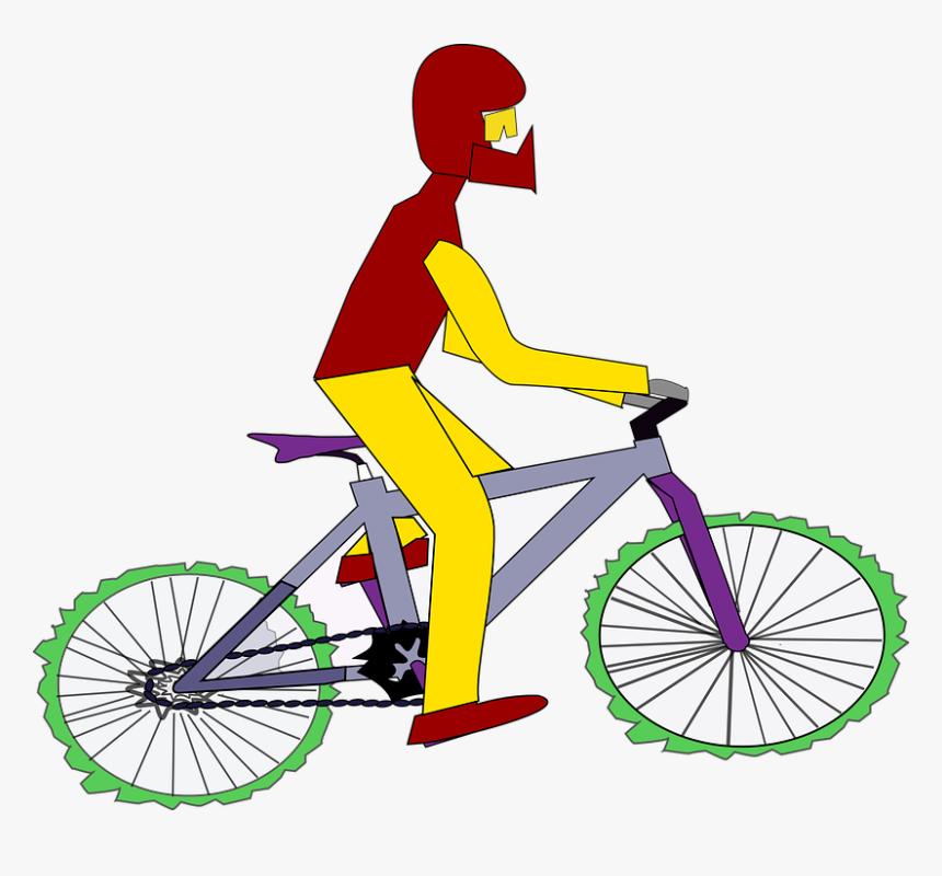 Gambar Animasi Orang Naik Sepeda Hd Png Download Transparent Png Image Pngitem