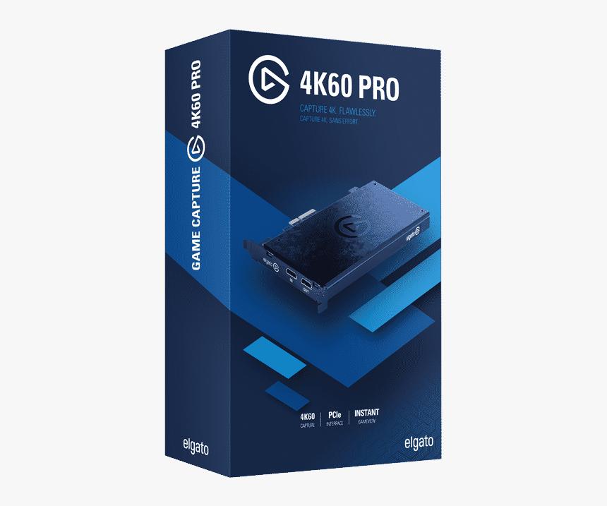 4k60 Pro Elgato Game Capture 4k Hd Png Download Transparent Png