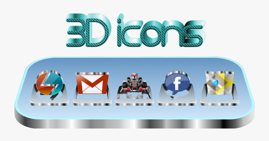 Clip Art 3d Icons For Android 3d Icons For Android Hd Png Download Transparent Png Image Pngitem