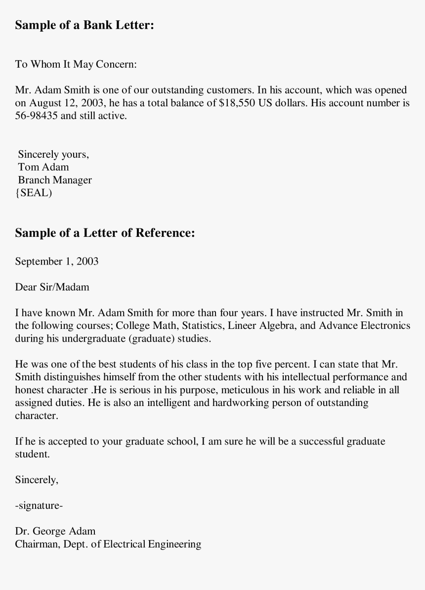 Job Recommendation Letter Example from www.pngitem.com