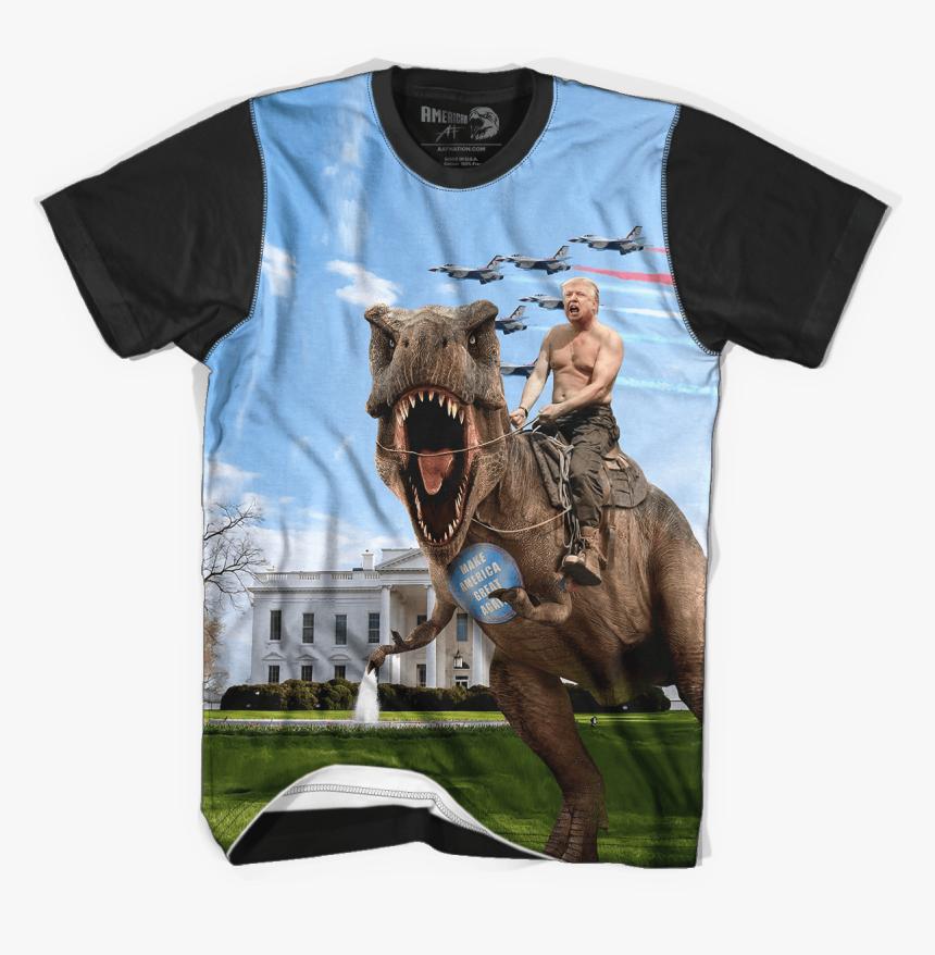 Pro Trump Shirts Funny Donald Trump T Rex Shirt Hd Png Download