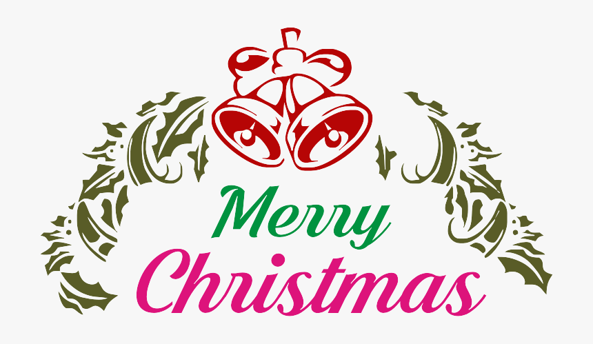 Transparent Merry Christmas Words Png Royalty Free Merry