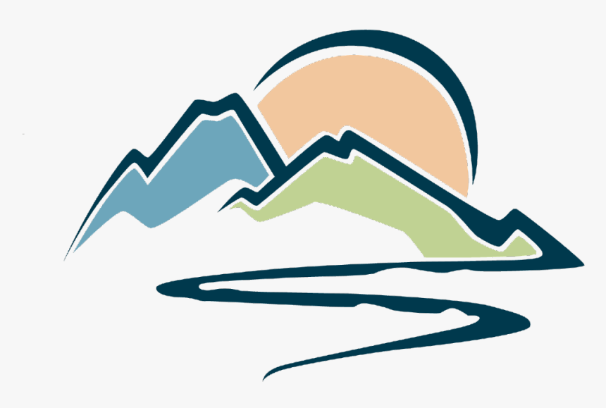 Ftestickers Clipart Cartoon Landscape Mountains Mountain River Png Logo Transparent Png Transparent Png Image Pngitem