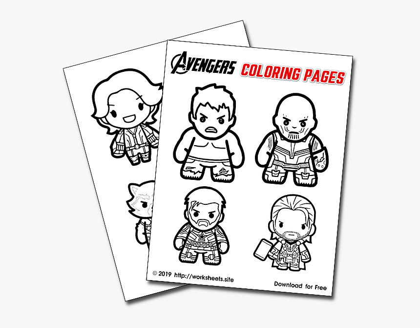 Avengers Endgame Logo Coloring Pages for Kids – Avengers Endgame ... | 671x860