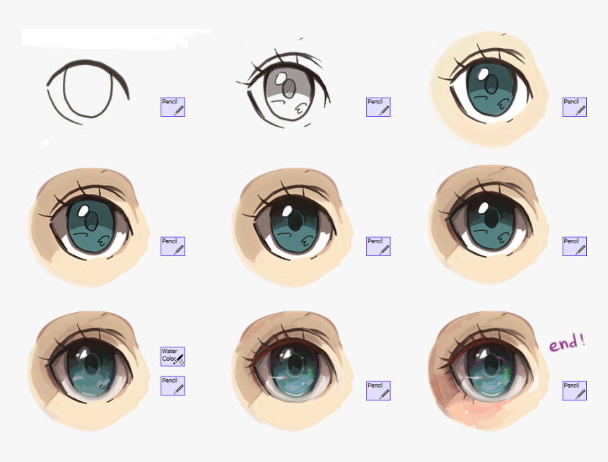 Digital Drawing Anime Eyes How To Draw Eyes Anime Digital Howto Techno how to draw eyes anime digital howto