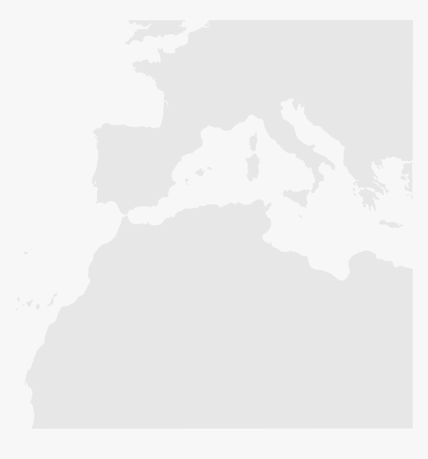 Blankmap Southwest Europe Nord Africa - Europe Africa Map ...