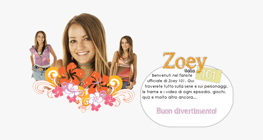 Zoey 101 Italia Zoey 101 Hd Png Download Transparent