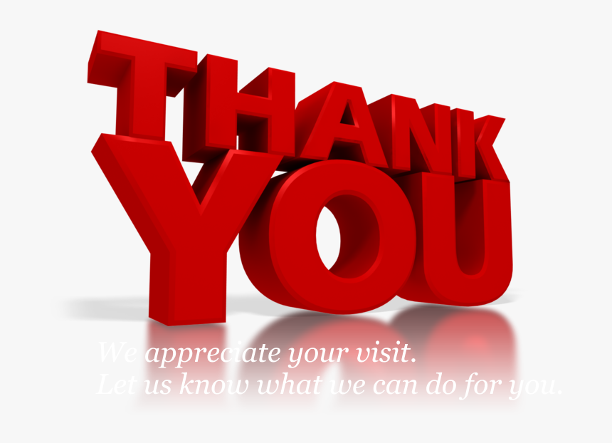 Transparent Grateful Clipart Powerpoint Animation Thank You Hd