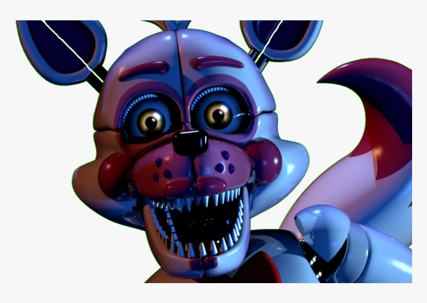 Funtime Foxy Custom Night Jumpscare Gif By Fnaf Sister Location Funtime Foxy Jumpscare Hd Png Download Transparent Png Image Pngitem