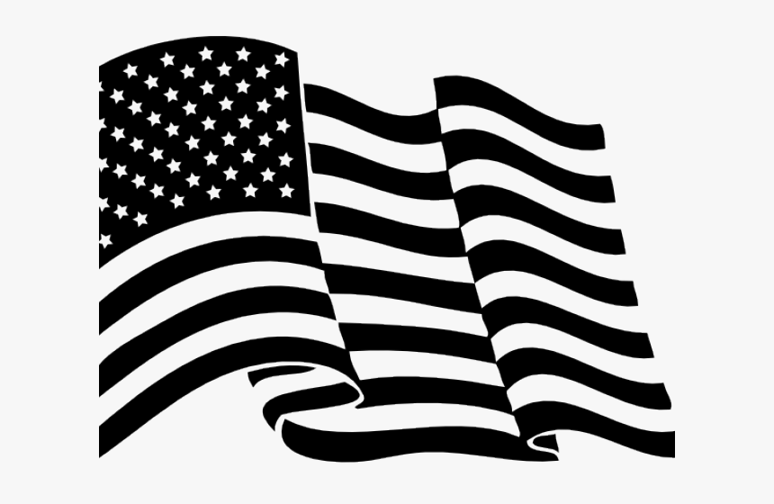 Drawn American Flag Transparent Background Waving American Flag