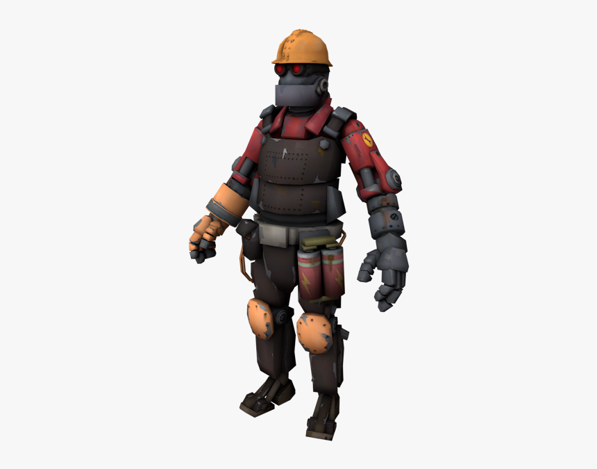 Download Zip Archive Team Fortress 2 Robot Engineer Hd Png