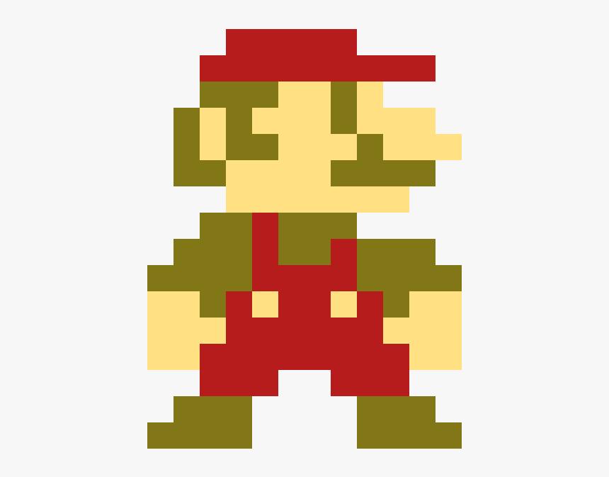 Luigi Mario Pixel Art Hd Png Download Transparent Png