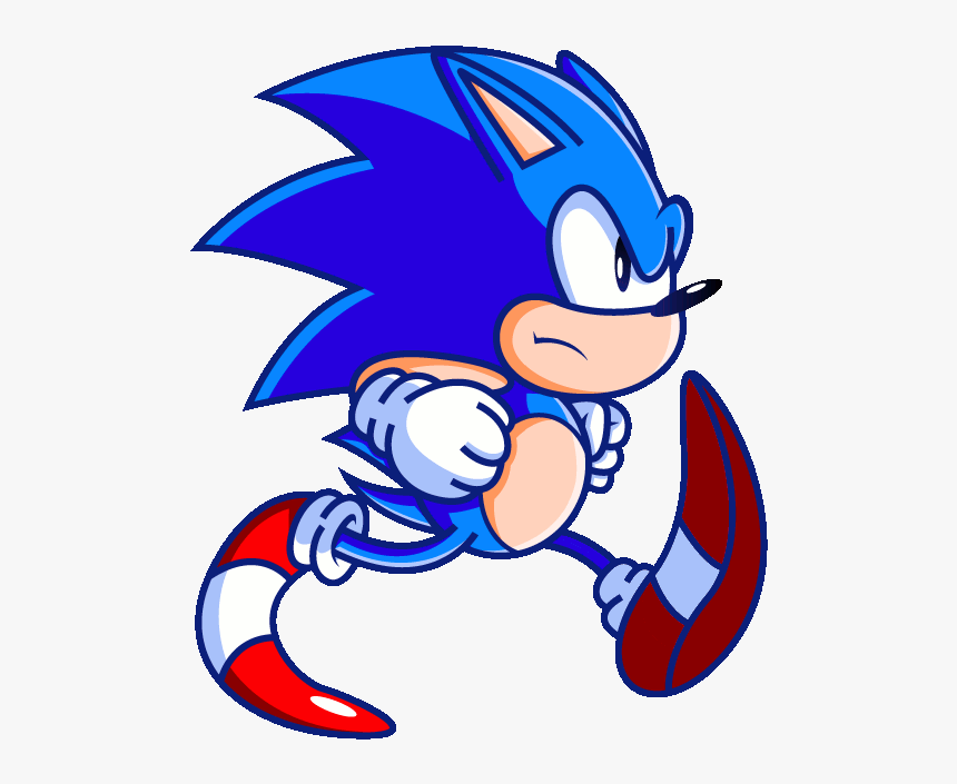 Funny Sonic Running Gif Hd Png Download Transparent Png Image Pngitem