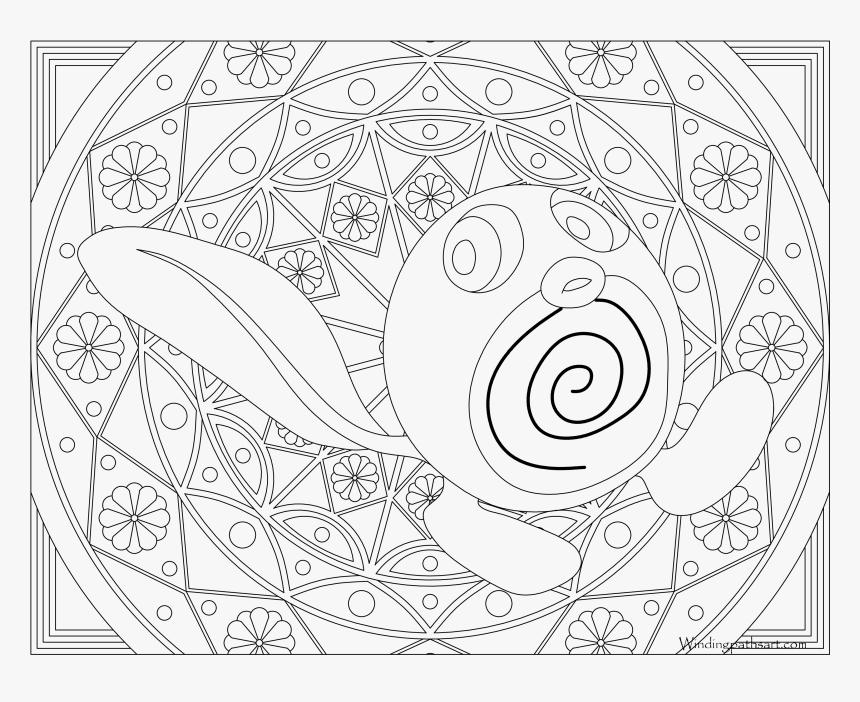 Mandalas Pokemon Para Colorear Hd Png Download Transparent Png
