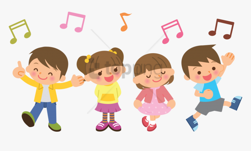 Free Png Children Dancing Clipart Png Png Image With Children Singing Clipart Transparent Png Transparent Png Image Pngitem