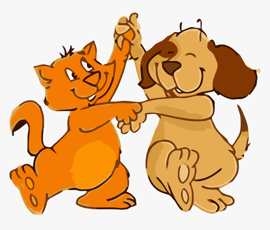 Cat And Dog Dance Png Clipart Dancing Dog Gif Animation