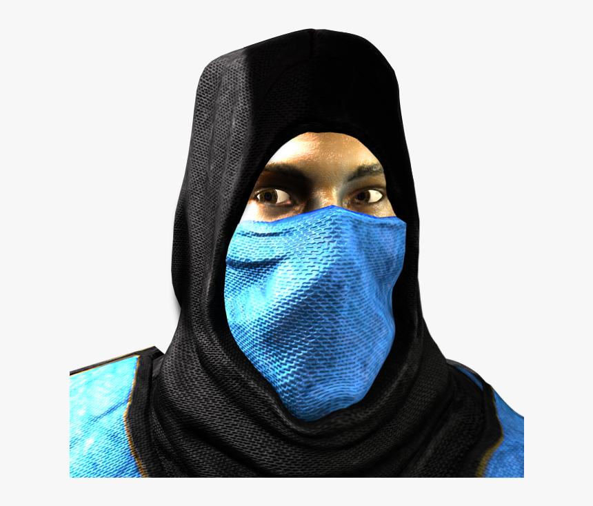 Mortal Kombat 1 Sub Zero Mask Hd Png Download Transparent Png