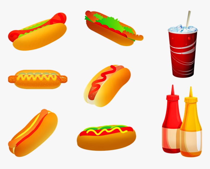 transparent hot dog clip art ilustrasi makanan dan minuman hd png download transparent png image pngitem hd png download transparent png image