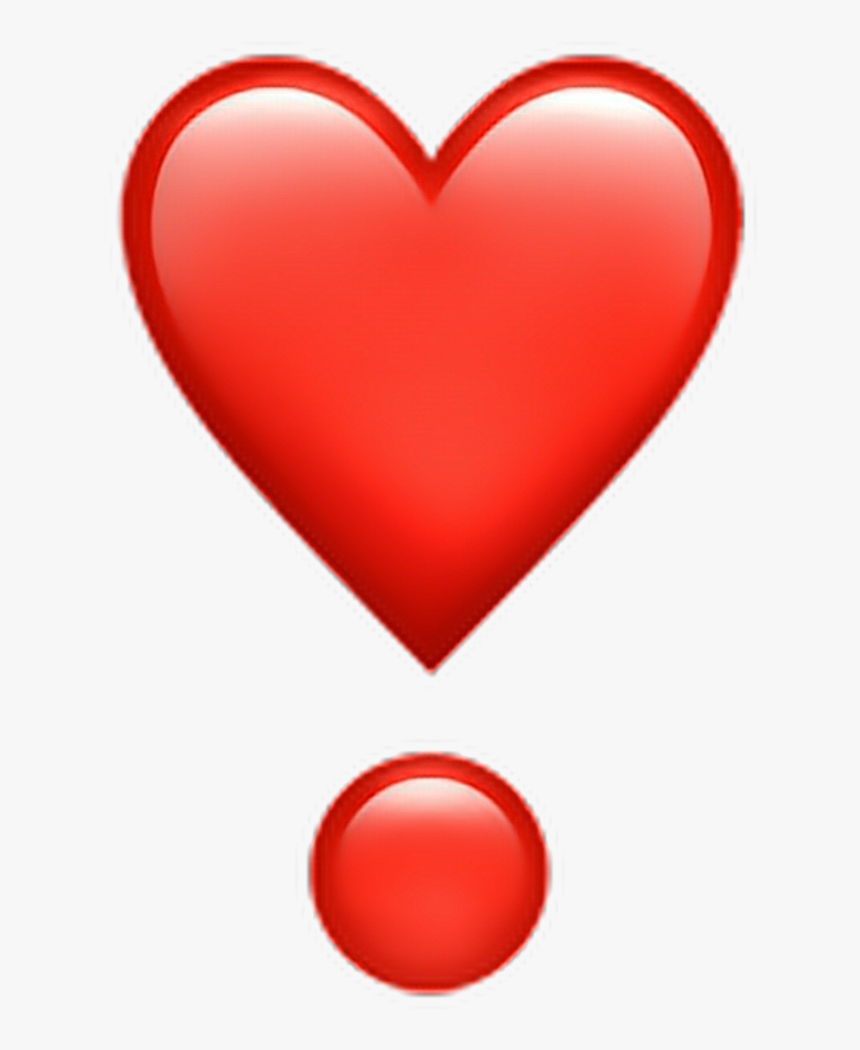 Heart Exclamation Point Emoji, HD Png Download , Transparent Png ...