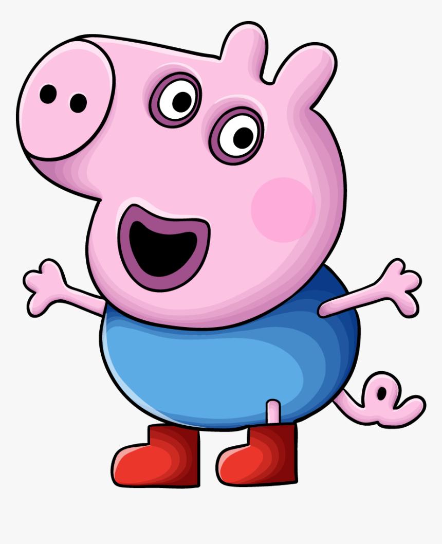 примере свинка пеппа младший брат джордж картинки том