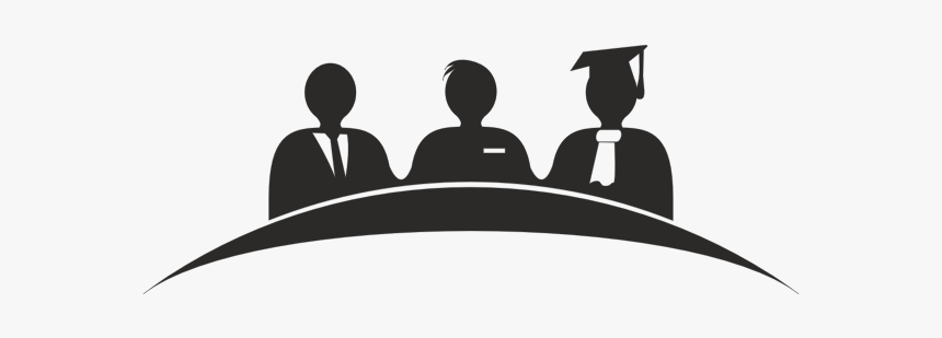 Academic Jury Board - Thesis Defense Clipart, HD Png Download , Transparent  Png Image - PNGitem