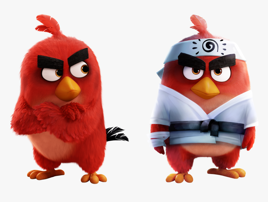 Angry Birds Wiki Angry Birds 2 Movie Red Hd Png Download