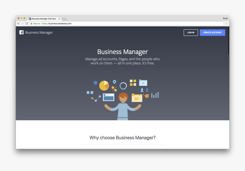 Bm Home Facebook Business Manager Log Hd Png Download Transparent Png Image Pngitem