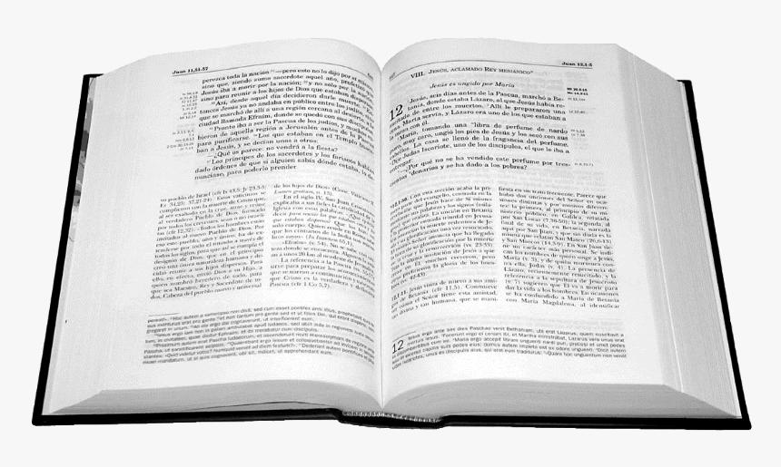 Biblia Abierta De Frente Hd Png Download Transparent Png Image Pngitem