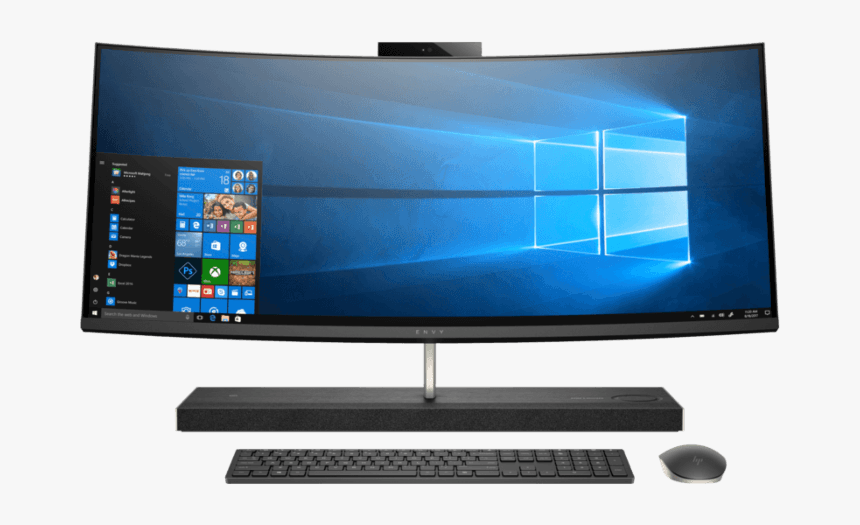 Hp Envy Curved All In One Hd Png Download Transparent Png Image