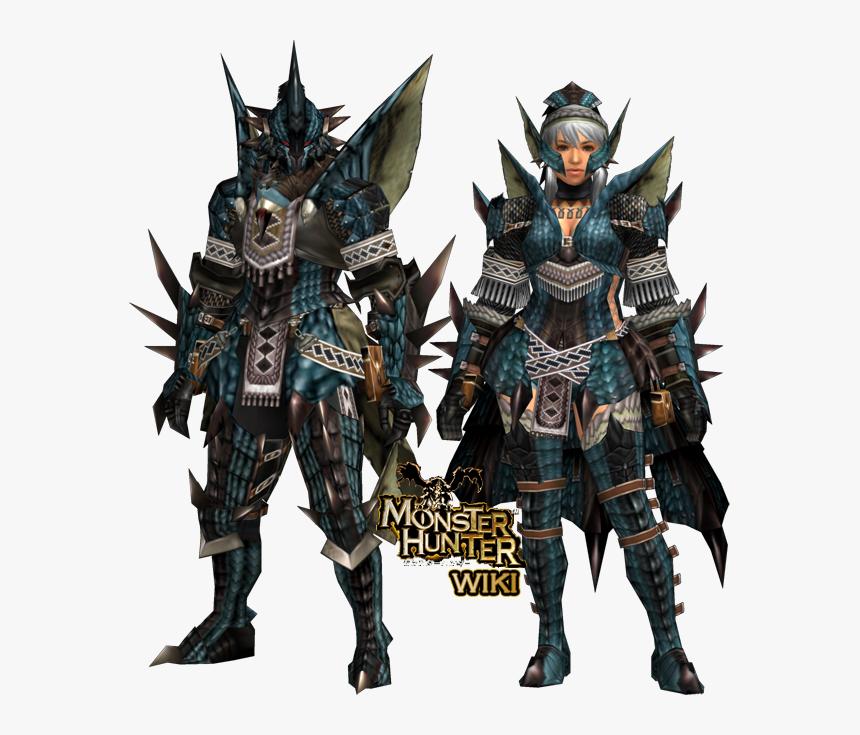 Monster Hunter Azure Rathalos Armor Hd Png Download Transparent